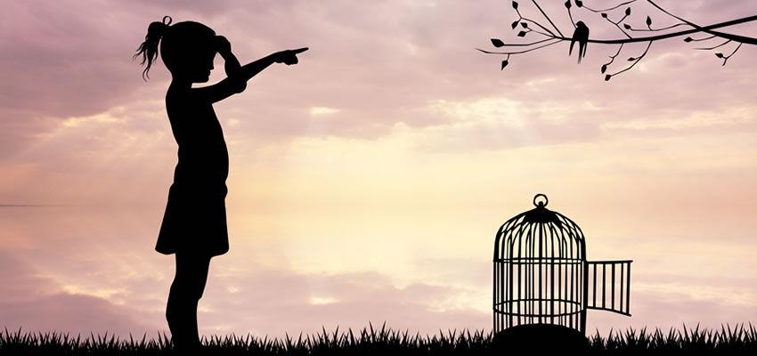 Niczym ptaszek w klatce